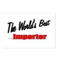 """The World's Best Importer"" Postcards (Package of"
