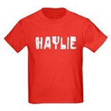 Haylie Faded (Silver) T