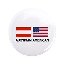 "Austrian American 3.5"" Button"