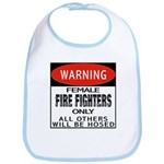 Female Fire Fighter Bib