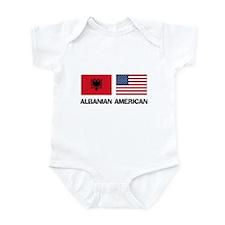 Albanian American Infant Bodysuit