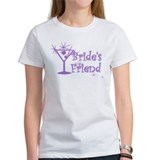 Purp C Martini Bride's Friend Tee