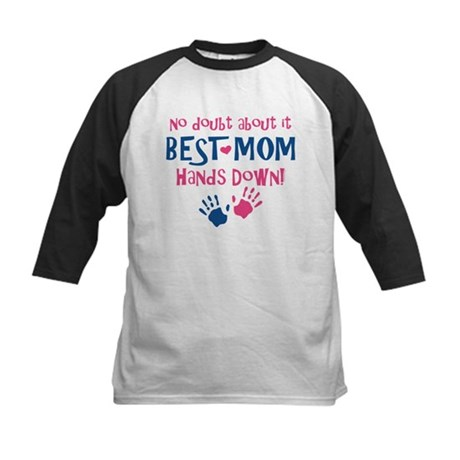 Hands Down Best Mom Kids Baseball Jersey