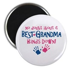 Hands Down Best Grandma Magnet