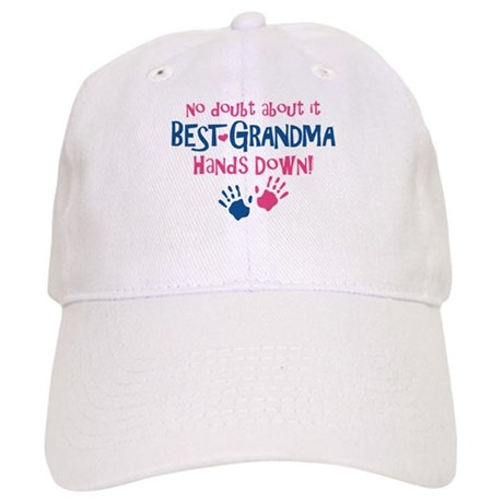 Hands Down Best Grandma Cap
