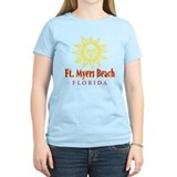 Ft. Myers Beach Sun - T-Shirt