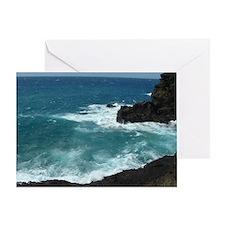 Hawaiian Waters Greeting Card