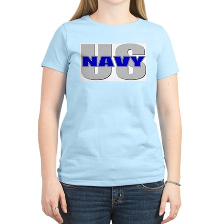 U.S. Navy Women's Pink T-Shirt