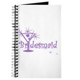 Purple C Martini Bridesmaid Journal