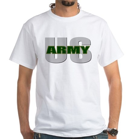 U.S. Army White T-Shirt