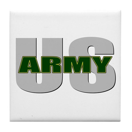 U.S. Army Tile Coaster