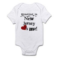 Someone in New Jersey Infant Bodysuit