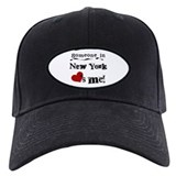 Someone in New York Baseball Hat