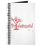 Red C Martini Bridesmaid Journal
