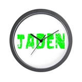 Jaden Faded (Green) Wall Clock