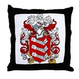 Armstrong Family Crest Throw Pillow