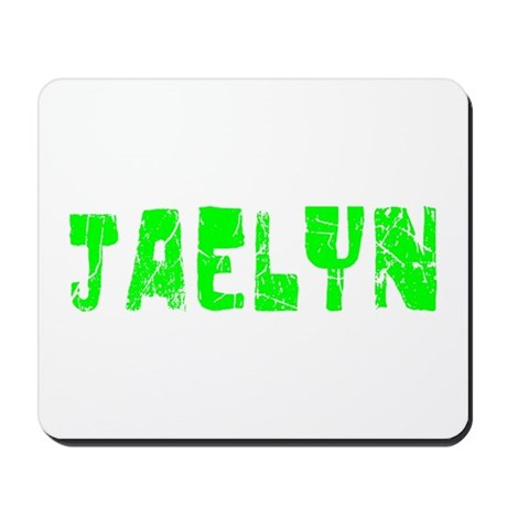 Jaelyn Faded (Green) Mousepad