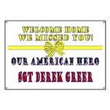 Welcome Home We missed you! Banner