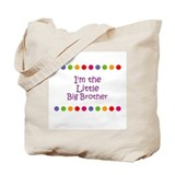 I'm the Little Big Brother Tote Bag