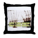 Sexy Data Entrist Throw Pillow