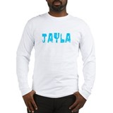 Jayla Faded (Blue) Long Sleeve T-Shirt