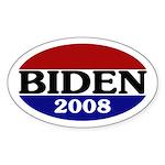 Joe Biden 2008 Oval Sticker