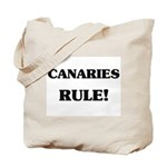 Canaries Rule Tote Bag
