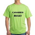 Canaries Rule Green T-Shirt