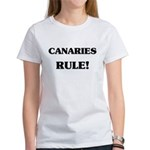 Canaries Rule Women's T-Shirt
