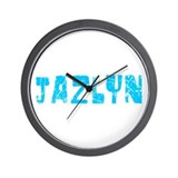 Jazlyn Faded (Blue) Wall Clock