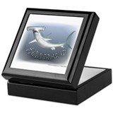Hammerhead Shark Keepsake Box