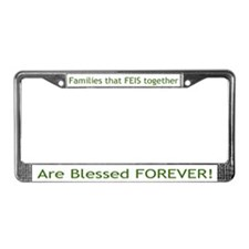 Feis Family Irish Dance License Plate Frame