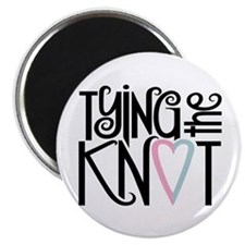"Tying the Knot 2.25"" Magnet (10 pack)"