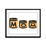 Canned Goods Mom Framed Panel Print