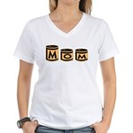 Canned Goods Mom Women's V-Neck T-Shirt