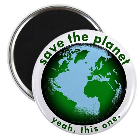 Save The Planet Magnet
