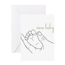 Cute New baby Greeting Card