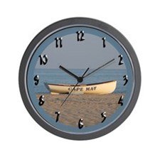 Cape May Lifeboat Wall Clock