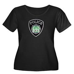 Newport News Police Women's Plus Size Scoop Neck D