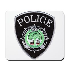 Newport News Police Mousepad