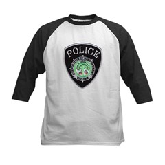 Newport News Police Kids Baseball Jersey