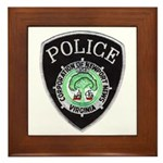 Newport News Police Framed Tile