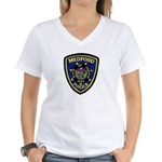 Medford Police Women's V-Neck T-Shirt