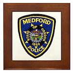 Medford Police Framed Tile