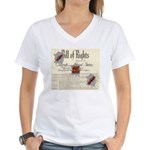 Bill of Rights Women's V-Neck T-Shirt