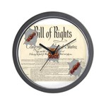 Bill of Rights Wall Clock