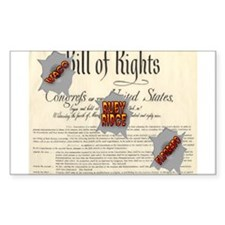 Bill of Rights Rectangle Decal