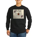 Bill of Rights Long Sleeve Dark T-Shirt