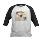 Bill of Rights Kids Baseball Jersey