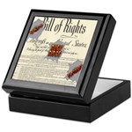 Bill of Rights Keepsake Box